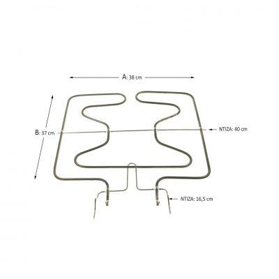 Κάτω αντίσταση φούρνου Bosch/Siemens/Neff/Pitsos