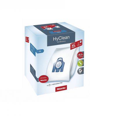 8 σακούλες σκούπας Mile HyClean GN Συσκευασία XL με φίλτρο Hepa