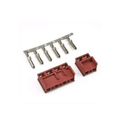Κλέμα αρσενική τετραπλή Σύνδεσης Πλατό Εστιών με Φούρνο Bosch-Siemens-Pitsos-Neff (γνήσιο προϊόν).